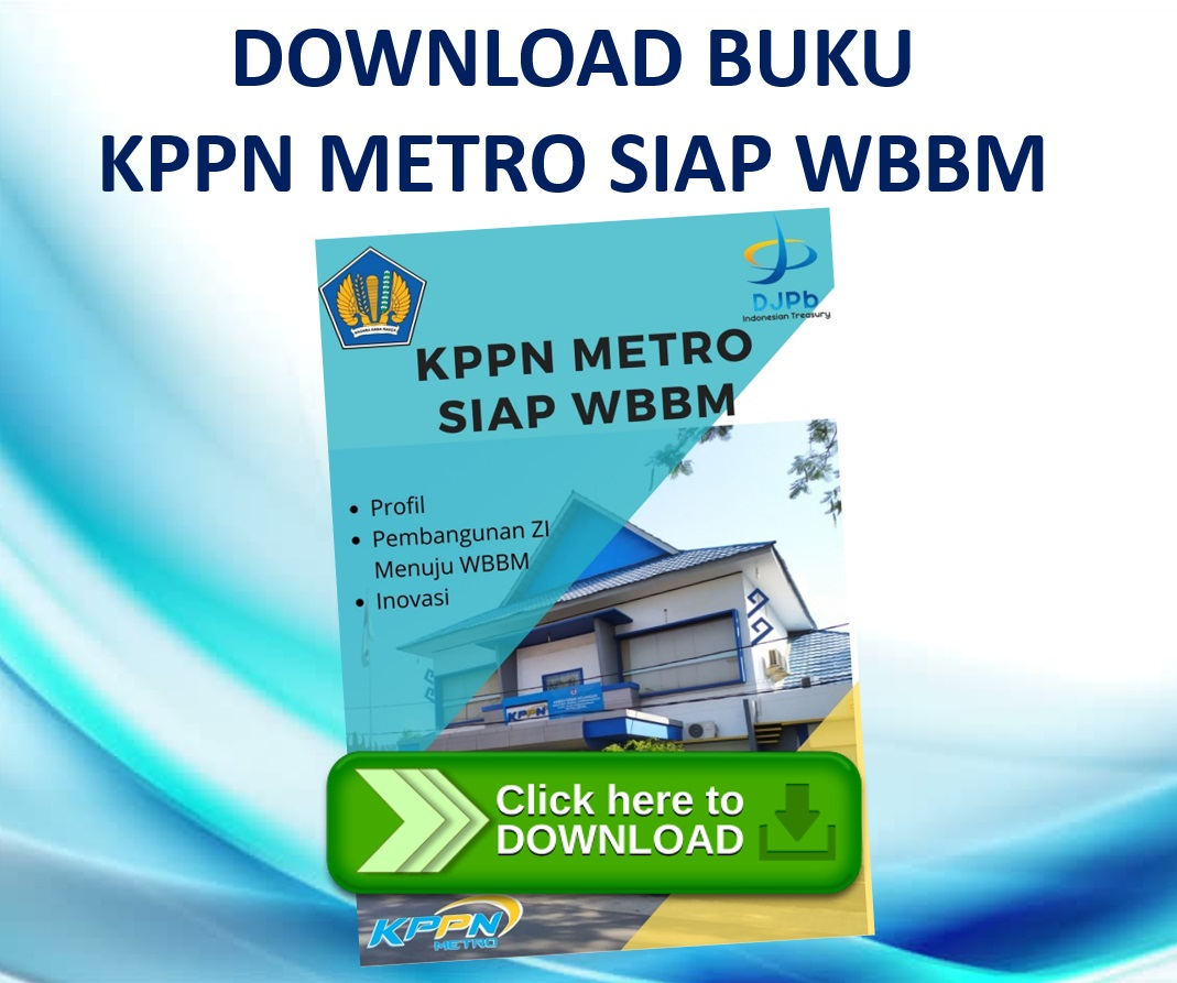 Download Buku KPPN Metro Siap WBBM